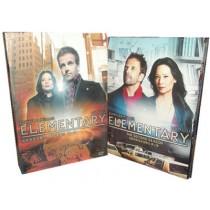 エレメンタリー ホームズ&ワトソン in NY シーズン1+2 DVD-BOX 完全版(24枚組)
