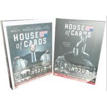 ハウス・オブ・カード 野望の階段 SEASON 1+2+3+4+5 DVD Complete Package 全巻