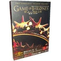 ゲーム・オブ・スローンズ 第二章: 王国の激突 DVD コンプリート・ボックス (6枚組)