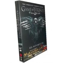 ゲーム・オブ・スローンズ 第四章: 戦乱の嵐-後編- DVD コンプリート・ボックス (5枚組)