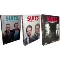 SUITS/スーツ シーズン1+2+3+4 豪華版 30枚組 DVD-BOX 全巻