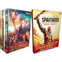 スパルタカス 序章+I+II+III 豪華版 DVDコレクターズBOX 全巻